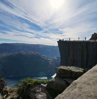 The Pulpit Rock
