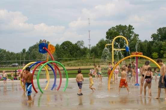 Splash Pad Fun at Hawk Island Park