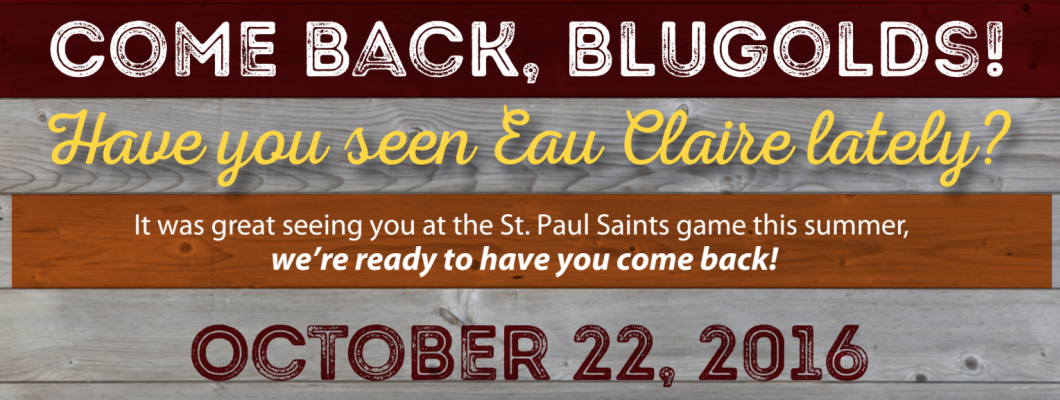 Saint Paul Saints Invitation