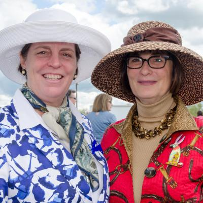 Lovely Hats at the 2016 Howard County Cup Races