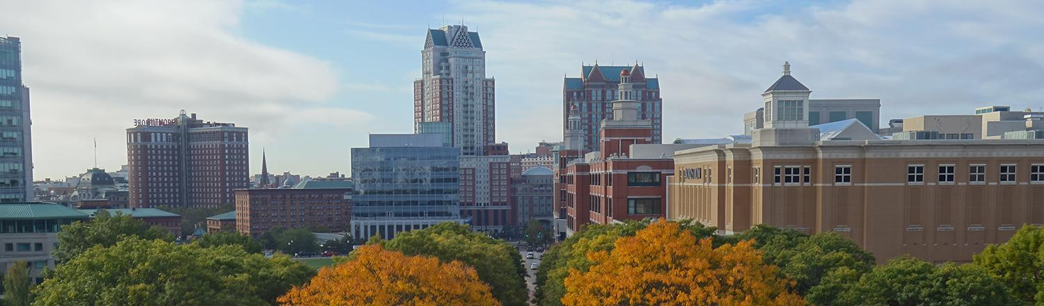 Providence in Fall