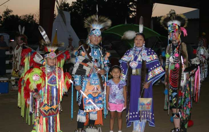 National Powwow dancers