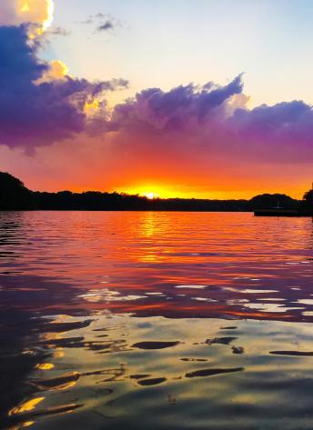 Sunset - Purple Sky