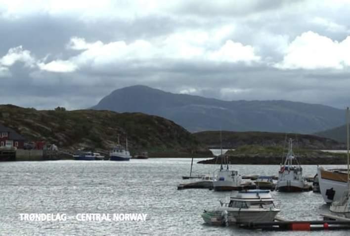 Deep-sea fishing at the coast of Trøndelag