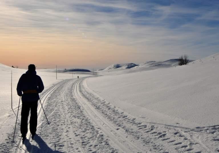 Vinter Nesbyen