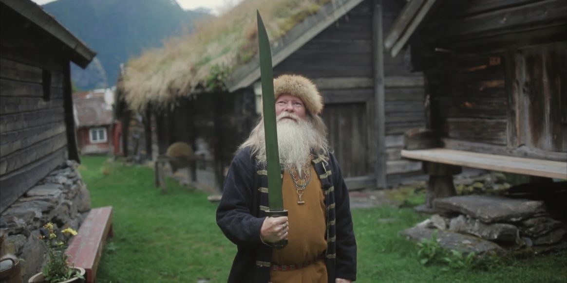 A modern Norwegian viking
