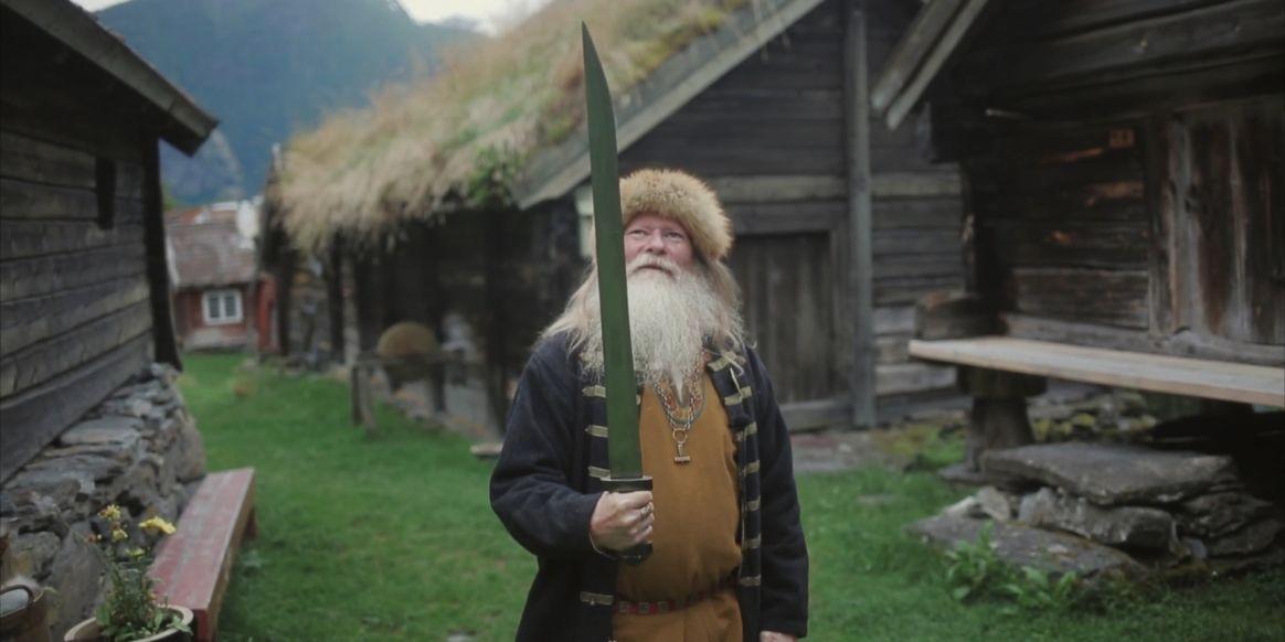 A modern Norwegian viking