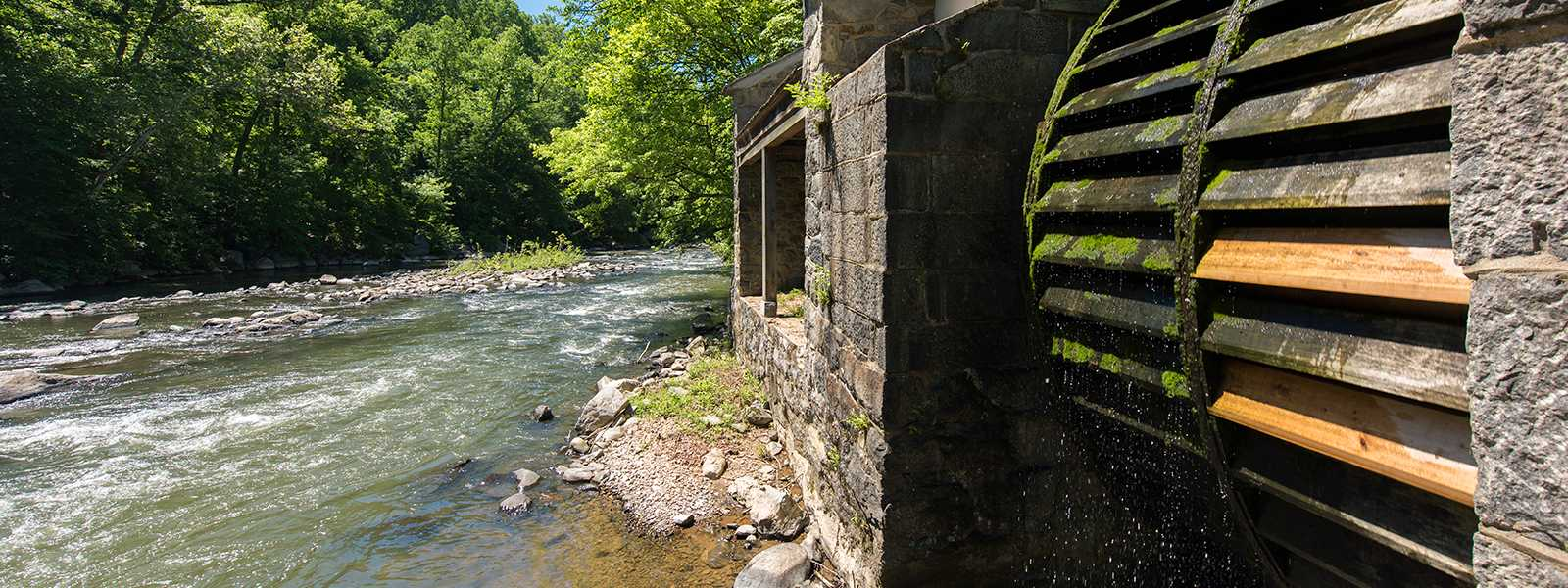 Hagley Water Wheel on the Brandywine River