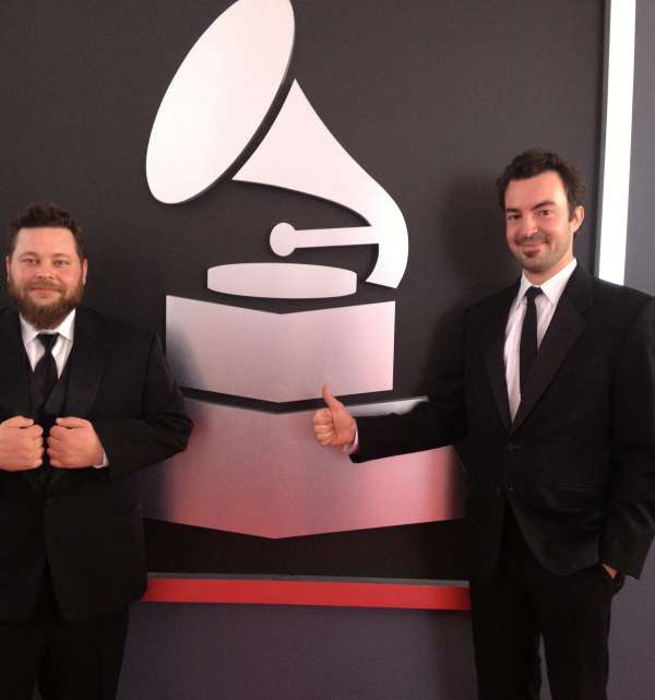 Joel Savoy at the Grammy's