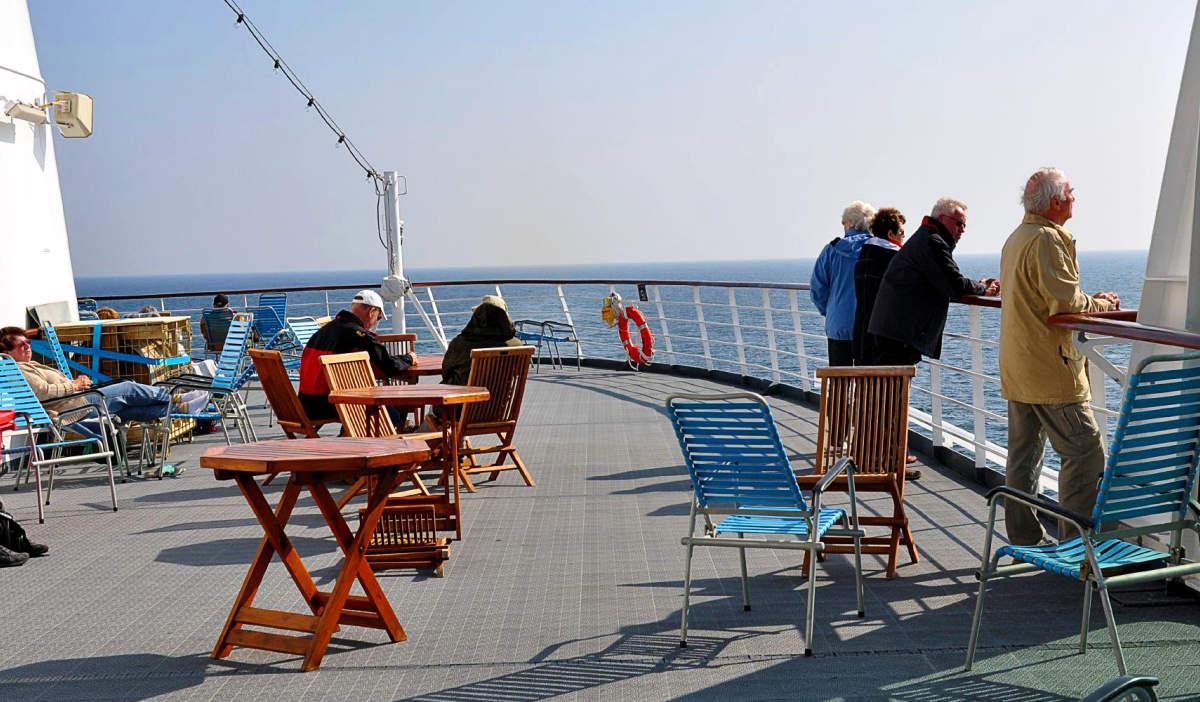 Hurtigruten on board
