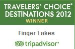 TripAdvisor Wine Destination Award Finger Lakes