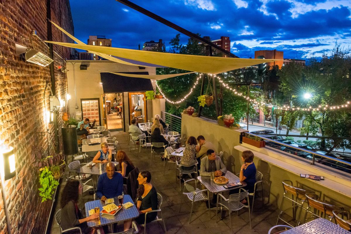 Stay Up Late And Discover Another Side Of Asheville on mountain patio ideas