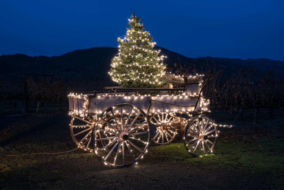 Holidays In The Napa Valley