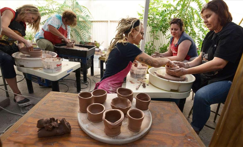 Pottery 48 Hr FAM June 2014