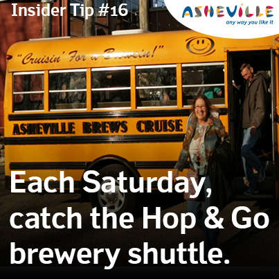 Brewery Shuttle Saturdays