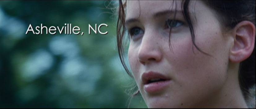 Hunger Games DVD Features Asheville