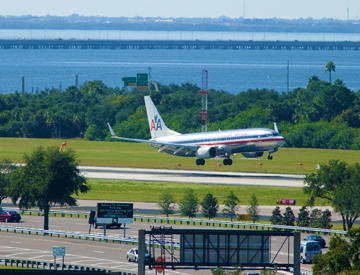 Get a charge at Tampa International Airport
