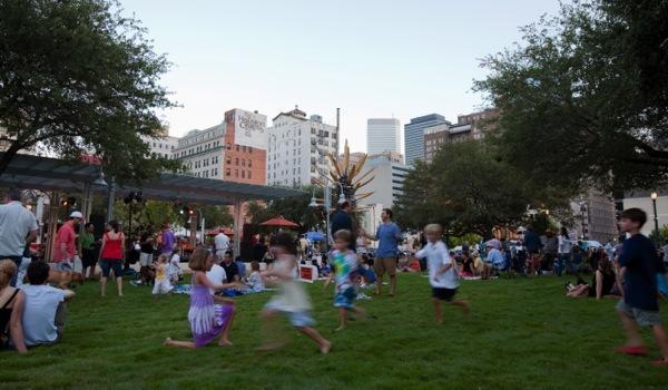 Market Square Park - Kid Friendly