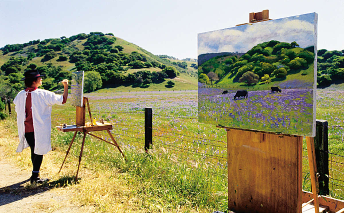 Plein Air Artist, Carmel Valley