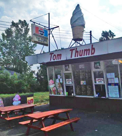Cayuga County Ice Cream Stands - Tom Thumb