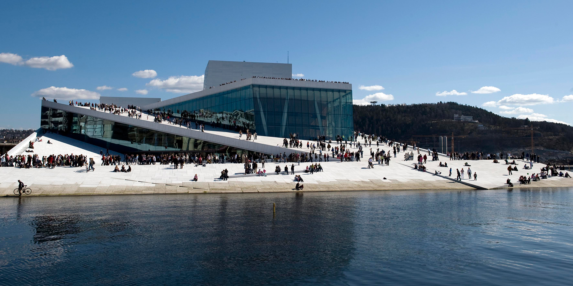 Oslo opera house please walk on the roof official travel guide to norway - The house on the rock the ultimate refuge in a norwegian fjord ...