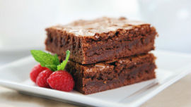 These brownies just get better with age.