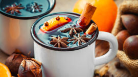 Happs' sensational mulled wine recipe is a heart stealer.