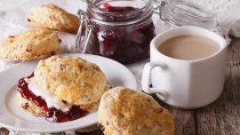 Scones and jam make a great treat! Picture: Shutterstock.