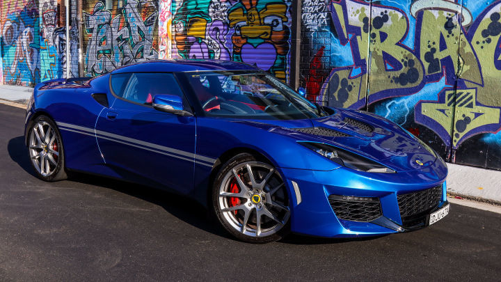 With the Lotus Evora 400, it's about the roar of the engine, noise of the exhaust and the pure driving pleasure.