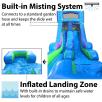 DC Super Hero Girls Wet/Dry Slide Misting System