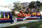 50ft Obstacle Course with other items