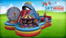 Amusement Park Bouncy Castle