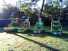 Dallas Tropical Luau Inflatable Game