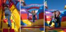 Inside Carnival Bounce House