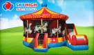 Carousel Combo Bounce House w/ (Wet/Dry) Slide (Default)