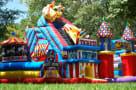 Midway Amusement Park Carousel