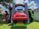 Inflatable Dinosaur Land Toddler Bounce House Combo