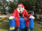 Dallas Inflatable Santa Chair