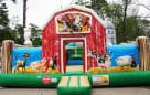 Barnyard bounce house