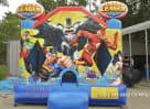 justice league bounce house
