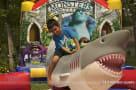 Kid Riding Mechanical Shark