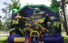Ninja Turtles Bounce House Houston