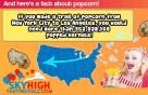 popcorn machine USA facts