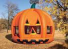 Pumpkin Bounce House Back