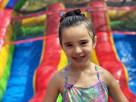 Rainbow Water Slide for Kids
