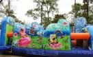 Left Side of Inflatable Spongebob