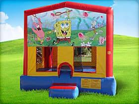 spongebob bounce house