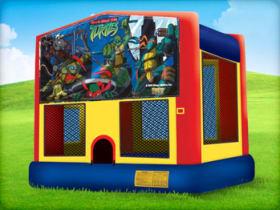 15 x 15 Ninja Turtles Bounce House