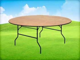 6ft Round Table Rentals Houston