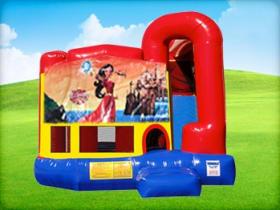 4in1 Elena of Avalor Bounce House w/ Wet or Dry Slide